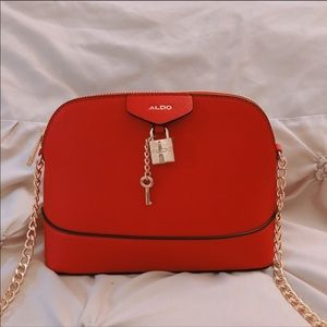 Aldo Red Crossbody Purse